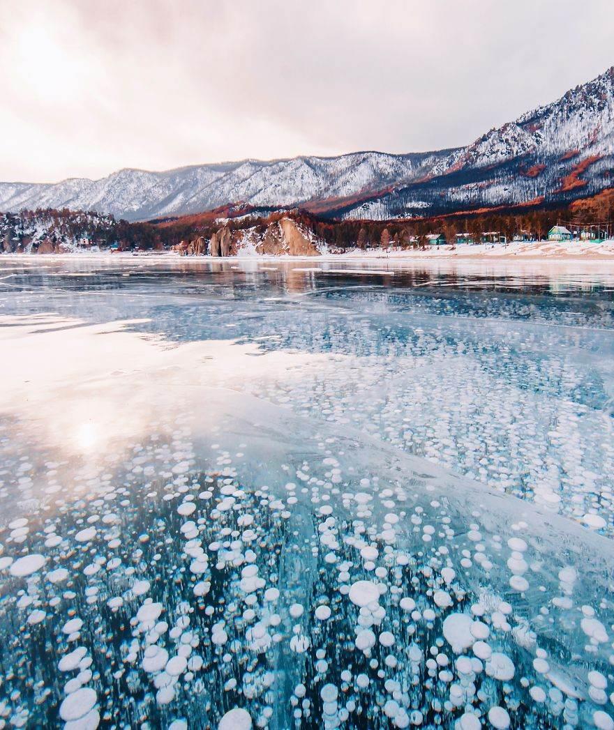 Замёрзший Байкал в фотографиях Кристины Макеевой 21